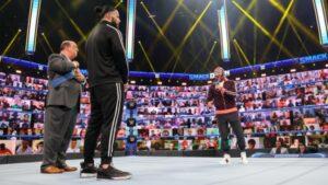 SmackDown Roman Reigns Rey Mysterio