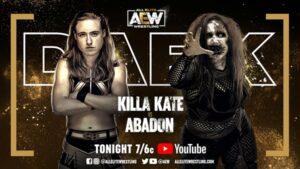 AEW Dark Card: Kill Kate vs Abadon