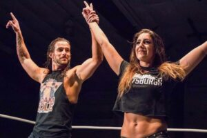 Adam Cole of NXT and Britt Baker of AEW fared greatly during the pandemic era