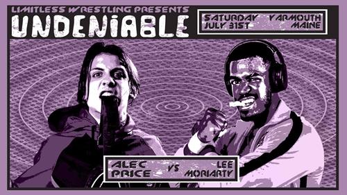 Undeniable - Alec Price vs Lee Moriarty Graphic