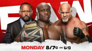 Bobby Lashley Goldberg WWE Raw Card