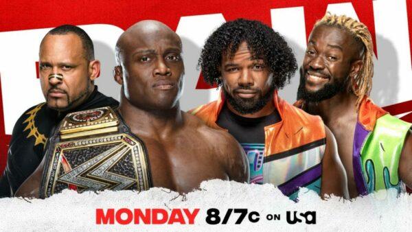 Bobby Lashley vs Xavier Woods WWE Raw Card