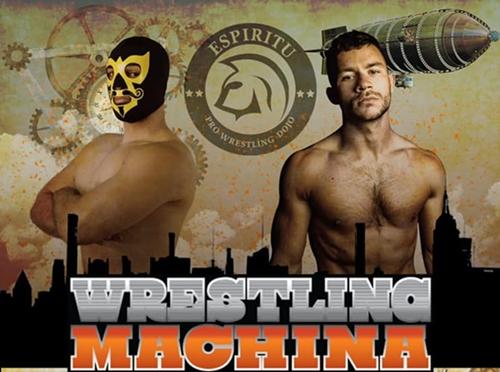 Wrestling Machina poster