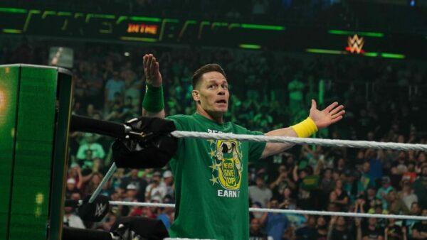 John Cena WWE Raw Card