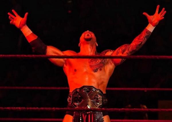Karrion Kross and Jeff Hardy met on Raw