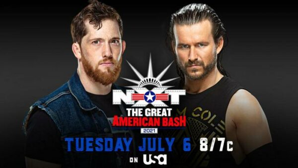 Kyle O'Reilly vs Adam Cole NXT Great American Bash results
