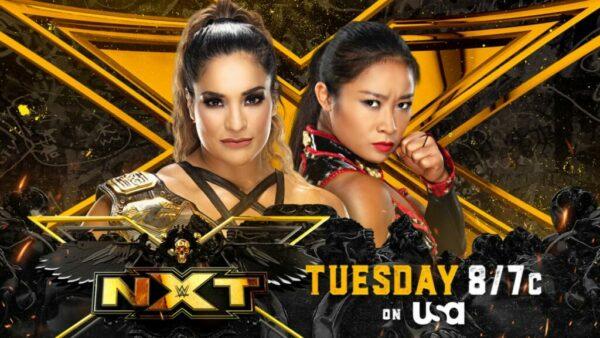Raquel Gonzalez vs Xia Li WWE NXT Card WWE NXT Results