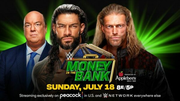 Roman Reigns vs Edge Money in the Bank results