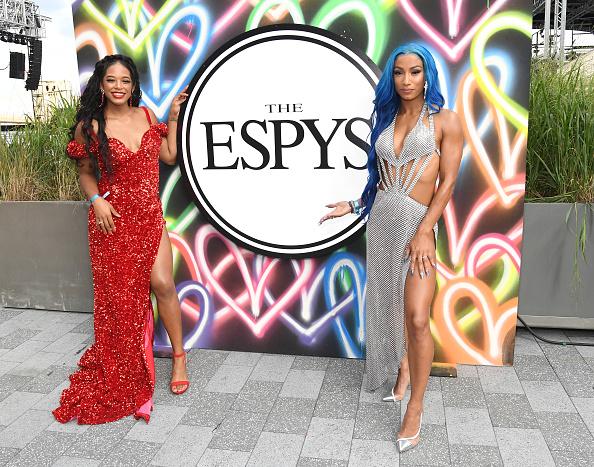 Bianca Belair & Sasha Banks at the Espys