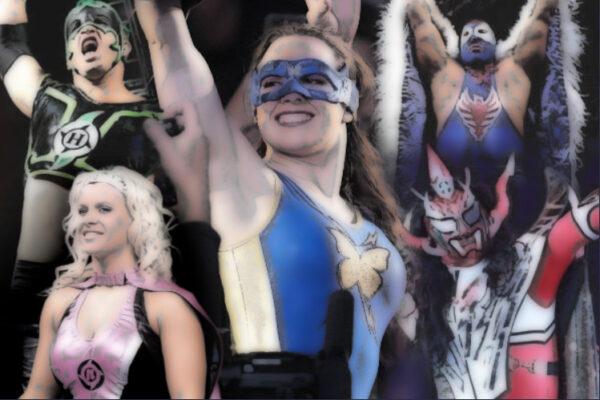 Superheroes in Wrestling