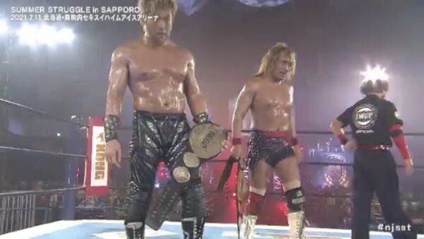 Tetsuya Naito SANADA NJPW Summer Struggle
