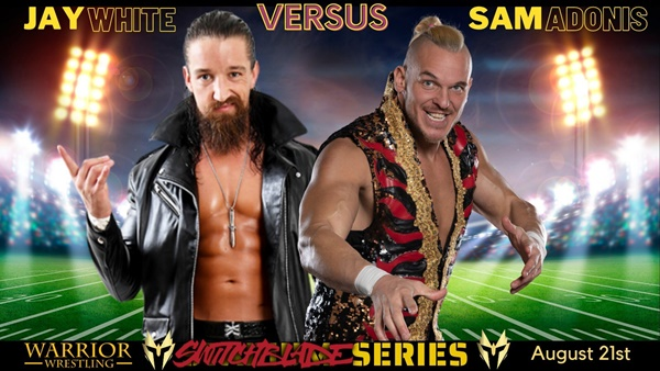 Jay White vs Sam Adonis at Warrior Wrestling