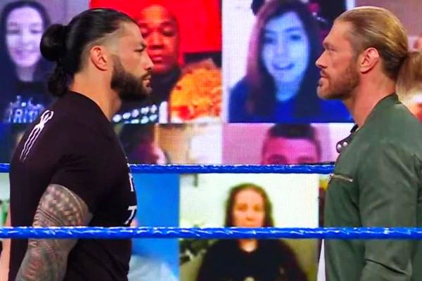 Edge vs Roman Reigns