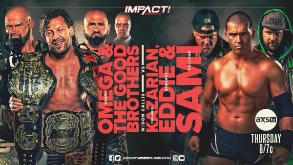 Frankie Kazarian IMPACT Wrestling