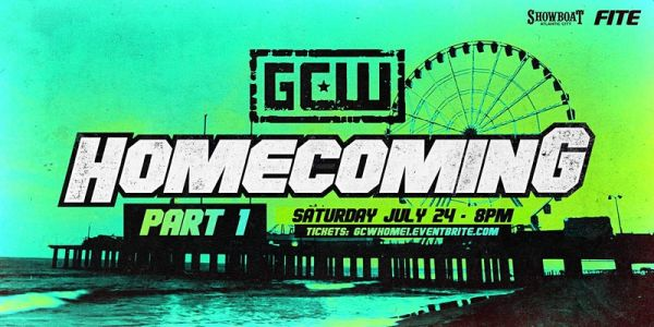 Watch GCW Homecoming 2021 Part 2 7/25/21