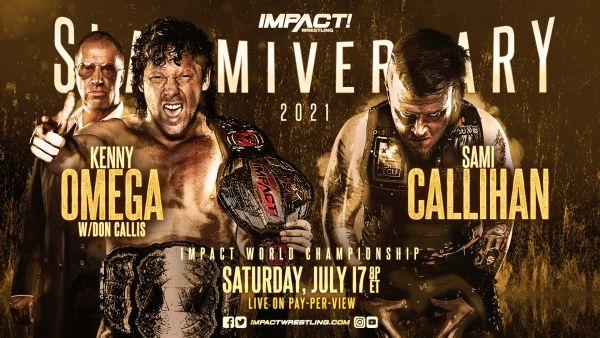 IMPACT Wrestling Slammiversary results 2021