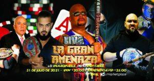 IWA Puerto Rico - La Gran Amenaza