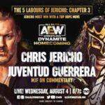 Juventud Guerrera Chris Jericho AEW Dynamite