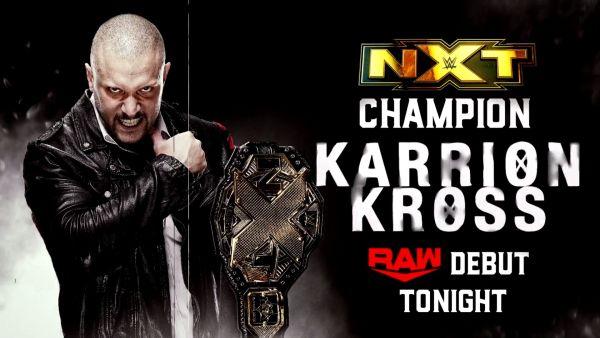 Karrion Kross Monday Night Raw Debut