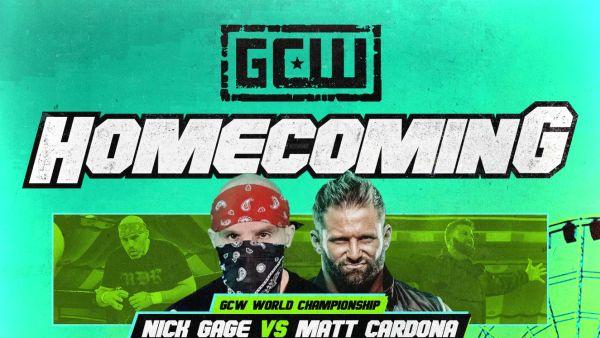 Matt Cardona Nick Gage GCW World Championship