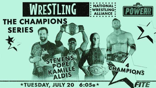 NWA Powerrr The Champions Series