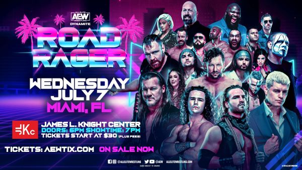 AEW Dynamite Road Rager AEW Road Rager results