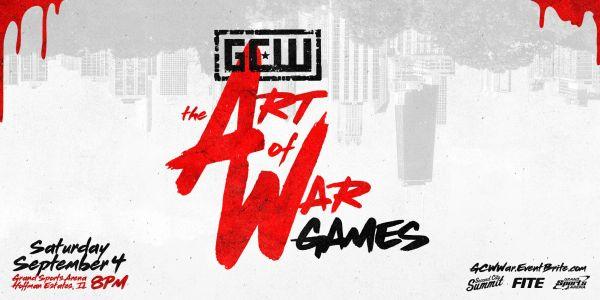 GCW The Art of War Games Match