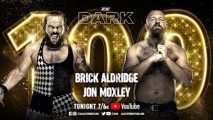 AEW Dark 100: Brick Aldridge vs Jon Moxley