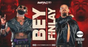Bey vs Finlay headlines Impact with Emergence Fallout