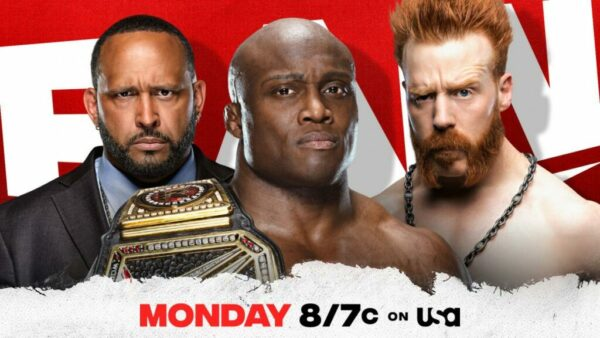 Bobby Lashley vs Sheamus WWE Raw Card