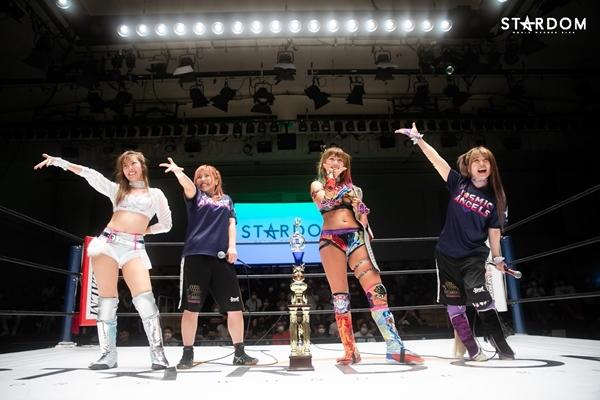 Mai Sakurai with the Cosmic Angels