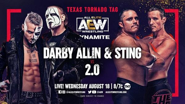 Sting wrestles on TNT