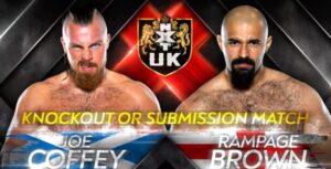 Rampage Brown vs Joe Coffey 3 Graphic