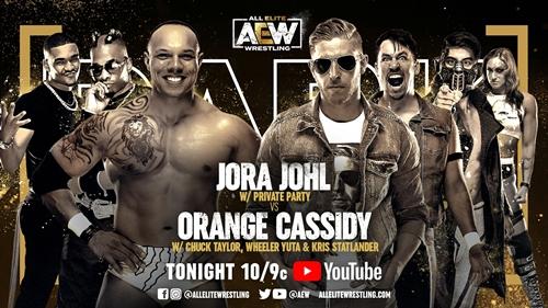 Friday Night Dark Special: Orange Cassidy vs jora Johl