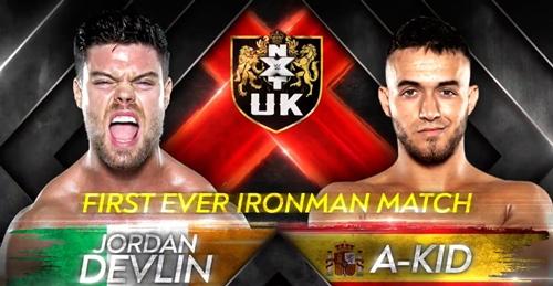 Jordan Devlin vs A-Kid graphic