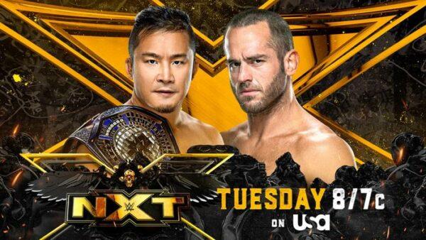 KUSHIDA vs Roderick Strong WWE NXT Card