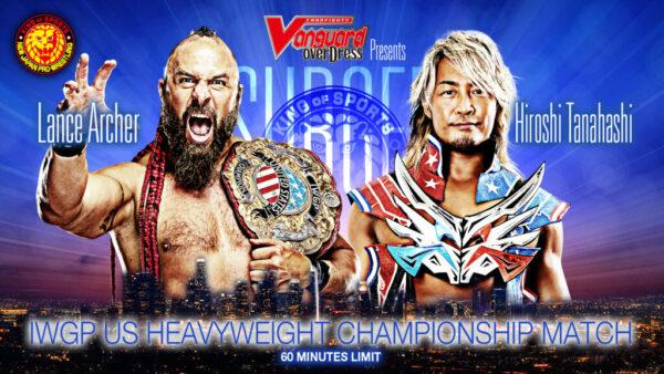 Lance Archer vs. Hiroshi Tanahashi NJPW Resurgence Card / NJPW Resurgence Results