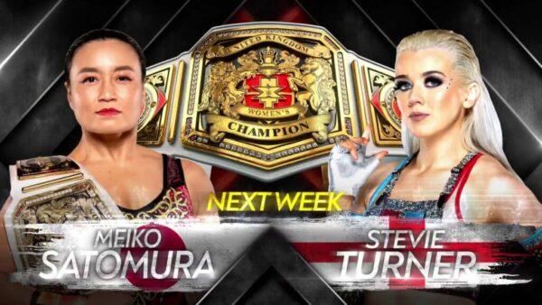 Meiko Satomura vs Stevie Turner NXT UK Preview
