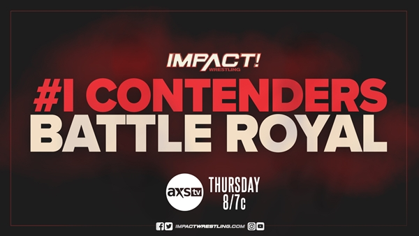 Number one contenders battle royal graphic