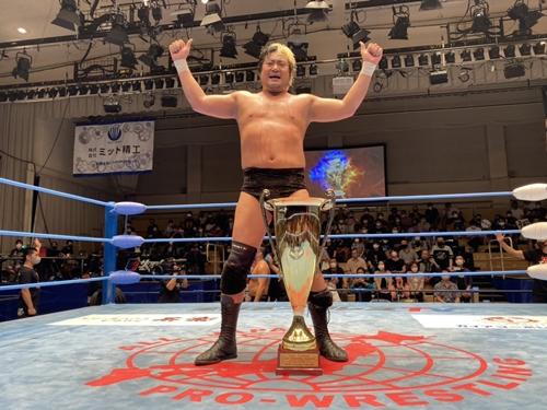 Suwama Wins Royal Road 2021