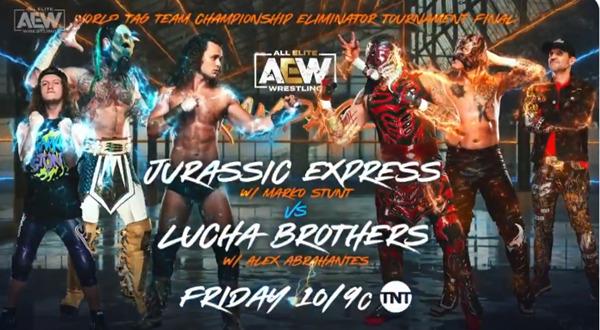 AEW Rampage Card (8/27/21) - Tag Team Title Eliminator Final