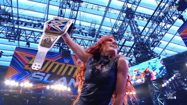 Becky Lynch Returns SummerSlam