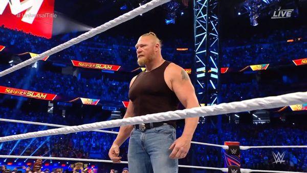 Brock Lesnar Returns SummerSlam