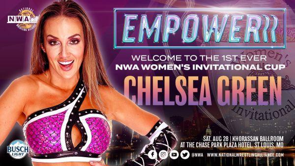 Chelsea Green NWA Women's Invitational Cup