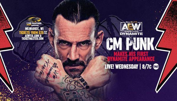 CM Punk AEW Dynamite Debut