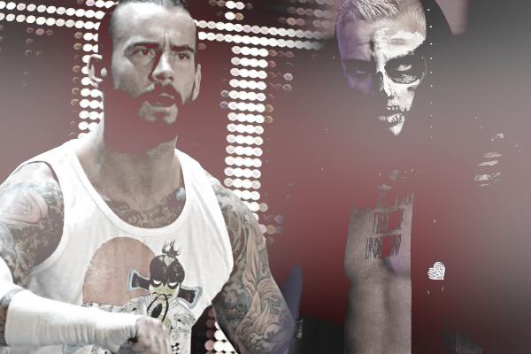 CM Punk Darby Allin AEW