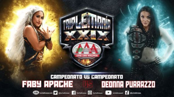 Faby Apache vs Deonna Purrazzo