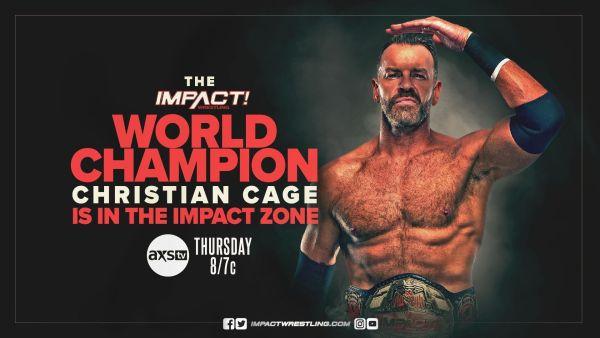 IMPACT Wrestling Christian Cage Returns