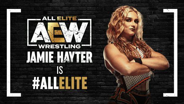 Jamie Hayter Returns All Elite