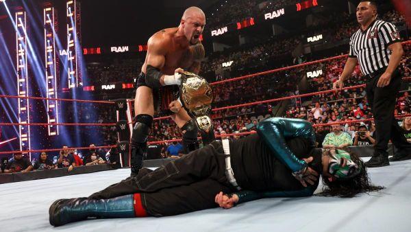 Karrion Kross vs Jeff Hardy